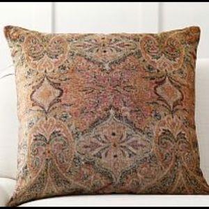 New Pottery Barn Rowan Velvet Print Pillow cover